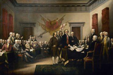 Declaración de Indepencia de EEUU por John Trumbull