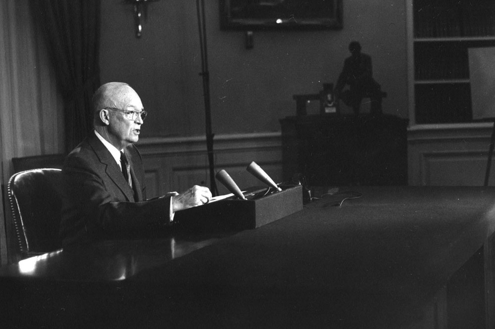 Discurso de Dwight D. Eisenhower en el Despacho Oval