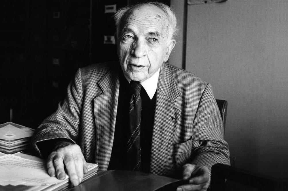 Alfred Sauvy, fue un economista, demógrafo y sociólogo francés