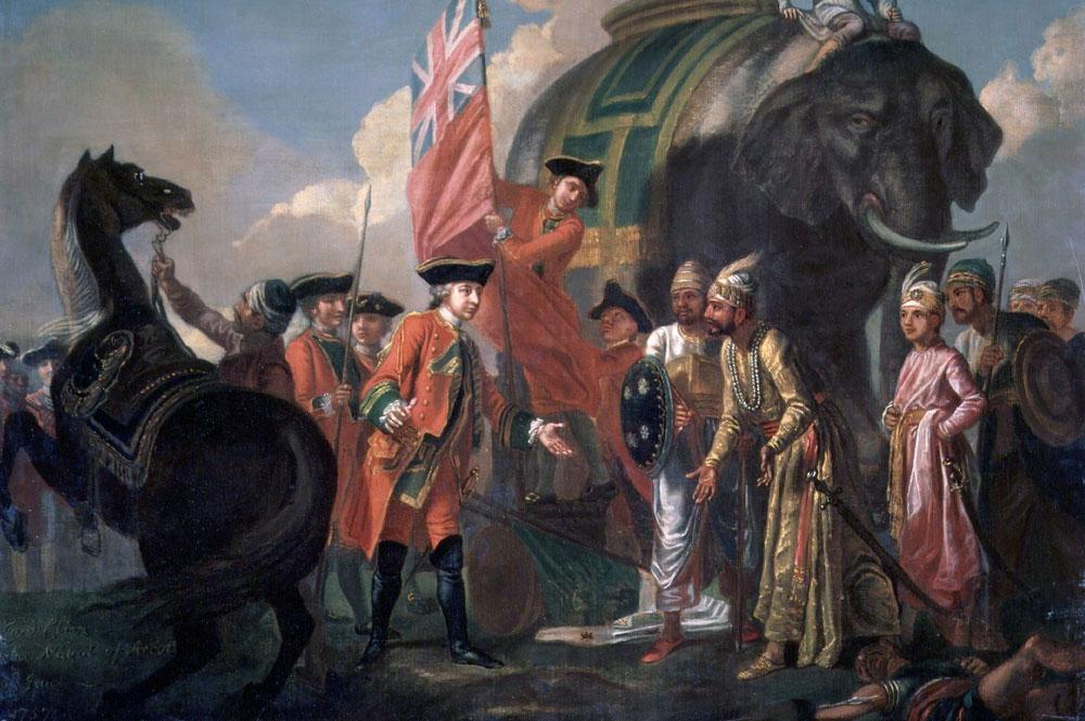 Robert Clive. Batalla de Plassey