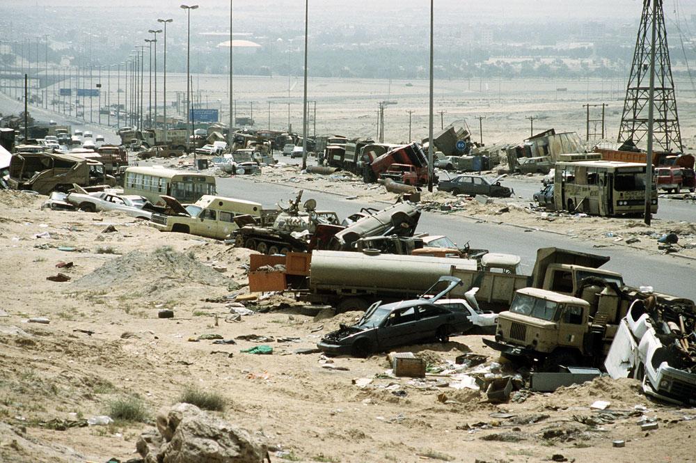 Carretera de la muerte en Iraq