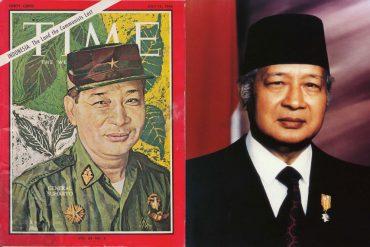 Suharto y portada de Time de 1966