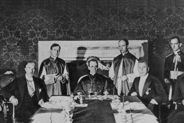 Eugenio Cardenal Pacelli y Franz von Papen