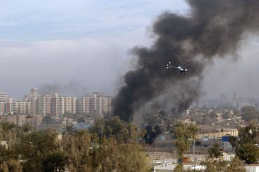 Helicóptero de Blackwater en Irak
