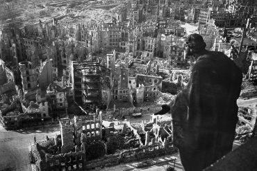 Ciudad de Dresde en 1945