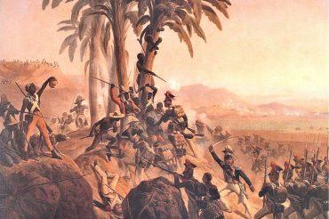 Batalla en Santo Domingo por de January Suchodolski