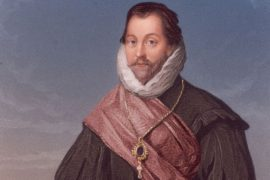 Retrato de Francis Drake