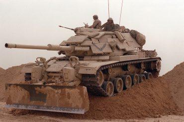 M60 bulldozer