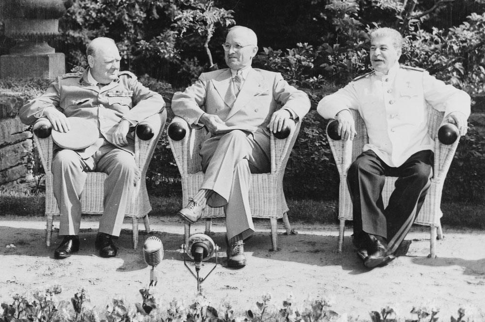 Conferencia Yalta 1945