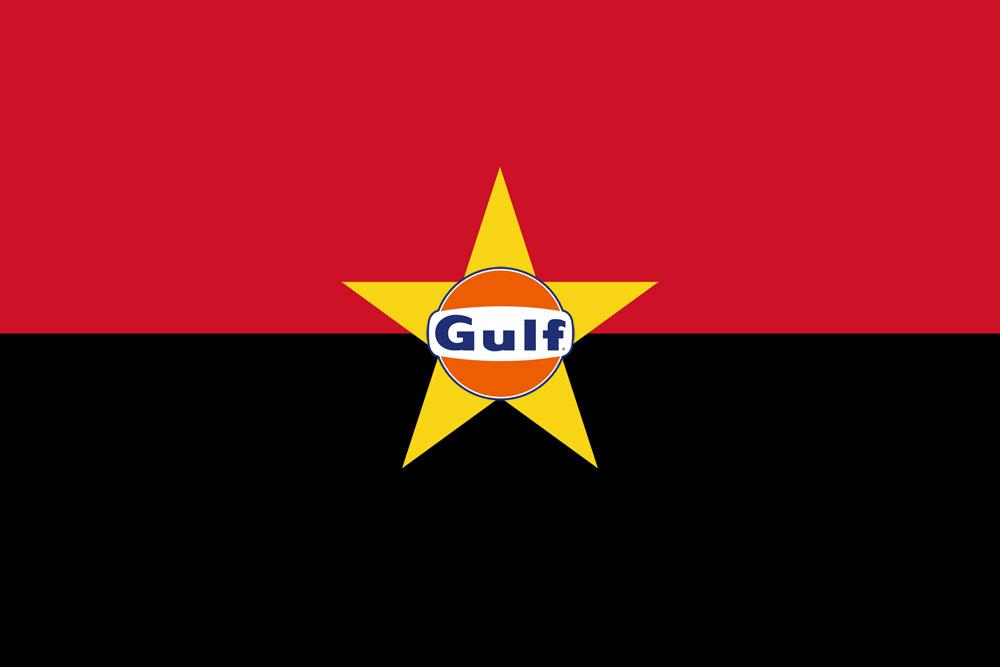 Gulf oil en Angola