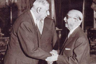 La OAS. Reunión Franco y De Gaulle